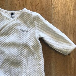 J&J Quilted Footed 1-Piece
